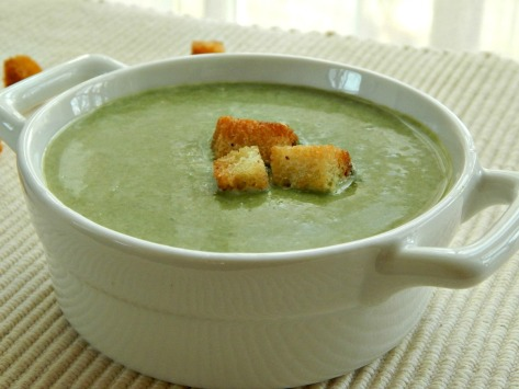 Potage - Cream of Spring Vegetable Soup