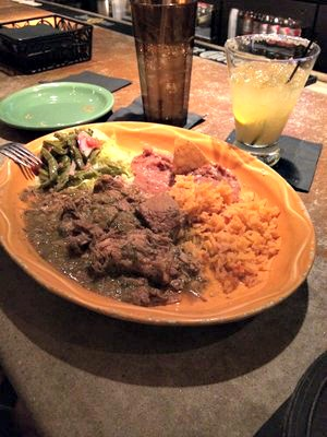 Puerco con Chile Verde from Espino's; photo from yelp.