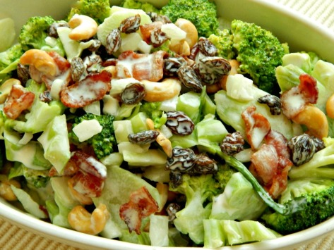 Crazy Broccoli Salad