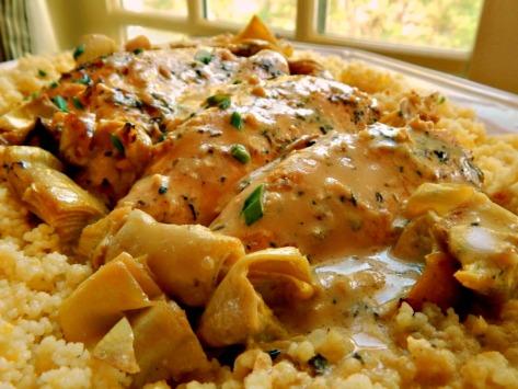 Chicken with Lemon & Artichokes