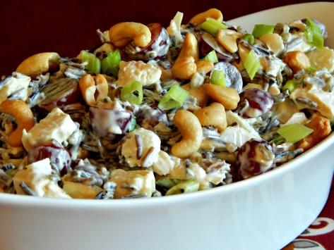 Wild Rice Chicken Salad