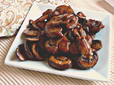 Pan Roasted Mushrooms & Onions