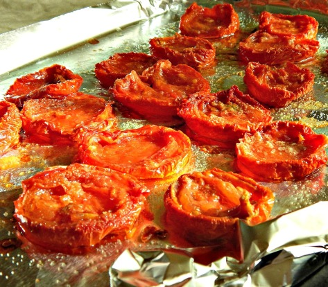 Slow-Roasted Oveb Tomatoes