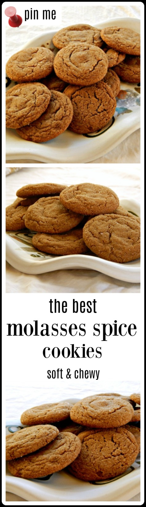 molasses spice cookies - these REALLY are the BEST! Addictive.