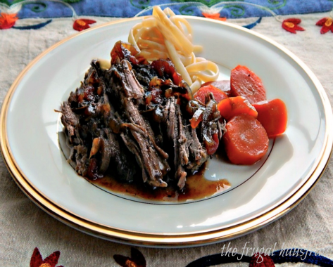 Balsamic Marinated Pot Roast