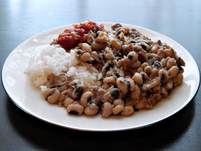 black eyed peas make this with your ham bone or other cuts of pork ...
