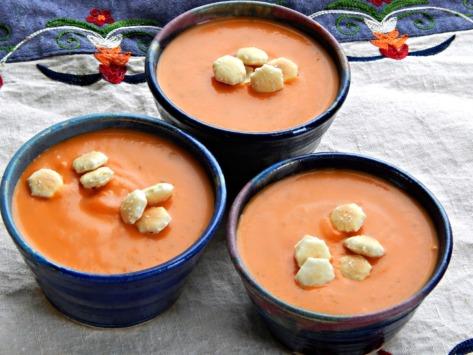 Tomato Zucchini Bisque