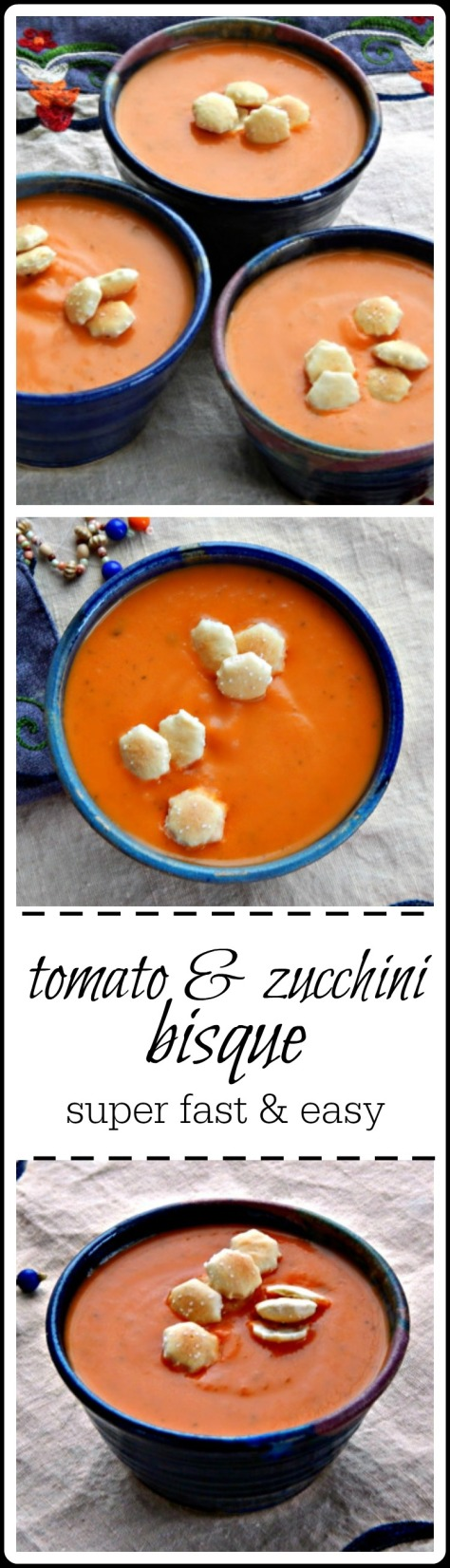 So good! You won't taste the zucchini, but it's in there, being all healthy! Excellent soup!