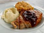 Sweet Bourbon Maple Brined Pork Chops
