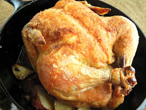 Thomas Keller Three Ingredient Chicken