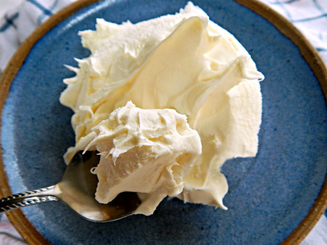 Home-Made Mascarpone Cheese
