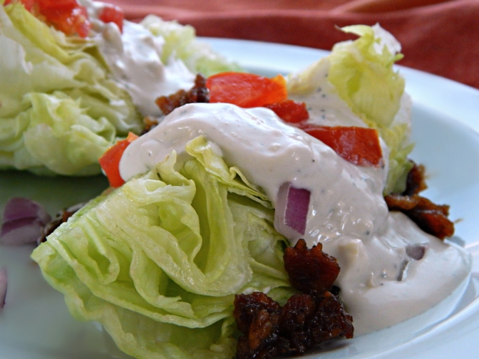 Serious Bleu Cheese Dressing & Wedge Salad