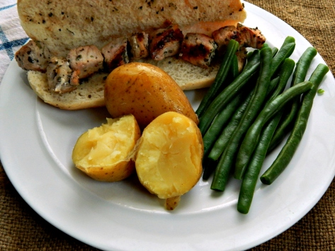 Spiedies - these are pork but for chicken or lamb use the same recipe.