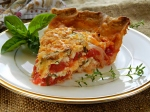 Tomato Pie, adapted from Emeril Lagasse