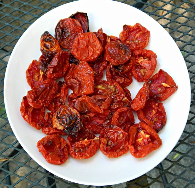 Oven Sun-dried Tomatoes