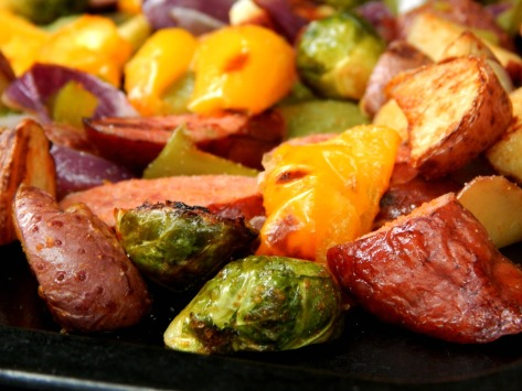 Easy Sausage Sheet Tray Bake