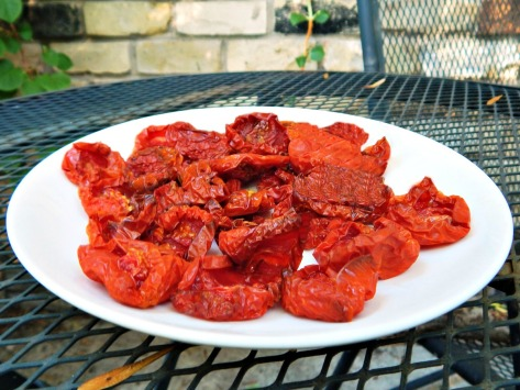 """Oven Dried """"Sun Dried"""" Tomatoes"""
