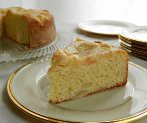 Old-Fashioned Pear Cake
