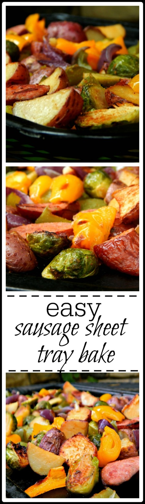 Easy Sausage & Potato Sheet Tray Bake