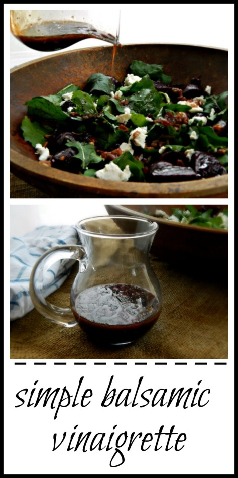 Simple Balsamic Vinaigrette - so good you'll want to make this all the time.