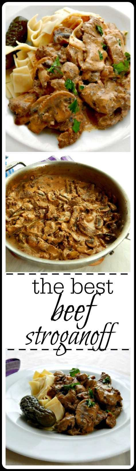 The Best Beef Stroganoff: This is really perfect - the recipe came from Russia