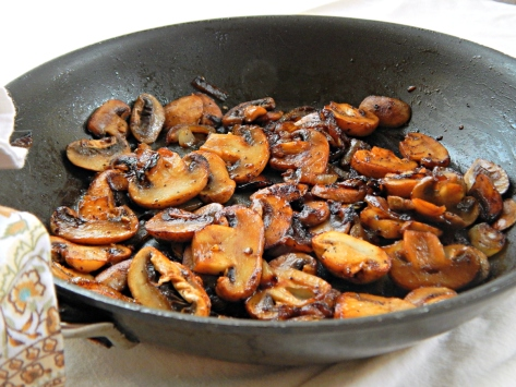 Steakhouse Mushrooms