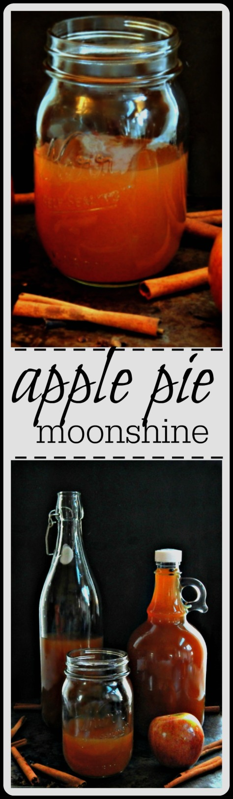 Apple Pie Moonshine - Easy Method with a toned down Alcohol Content. A serving 5 oz has the same alcohol content as a rum and coke.