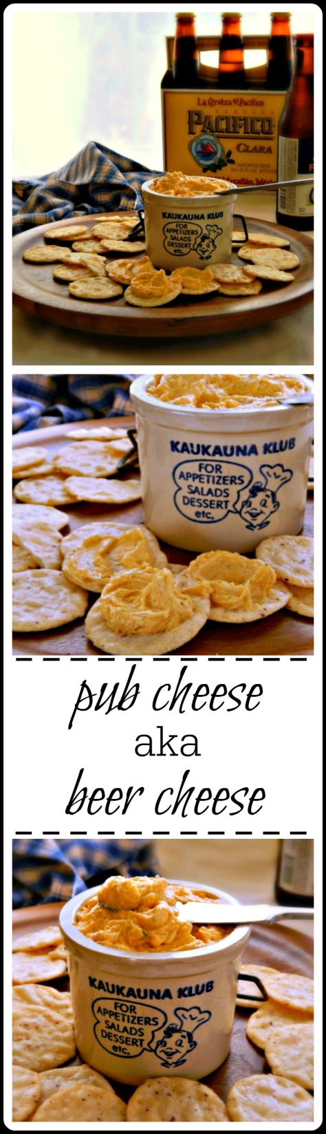 Pub Cheese (Beer Cheese) is such a delish spread & ridiculously easy!