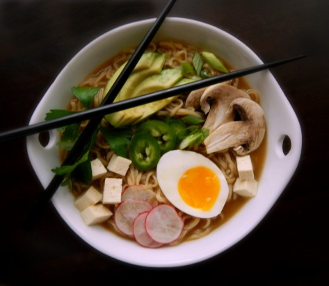 Home-made Turkey Ramen - delish!