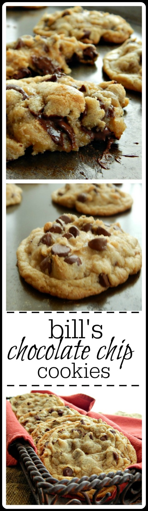 My very favorite Chocolate Chip Cookie - large and luscious!