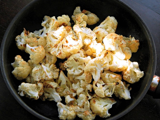 Essential Oven Roasted Cauliflower
