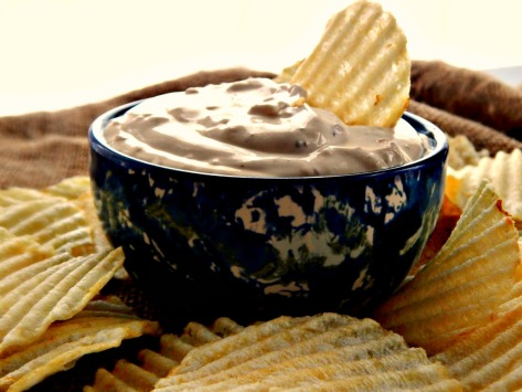 French Onion Dip made with Home-Made Lipton's Onion Soup Mix