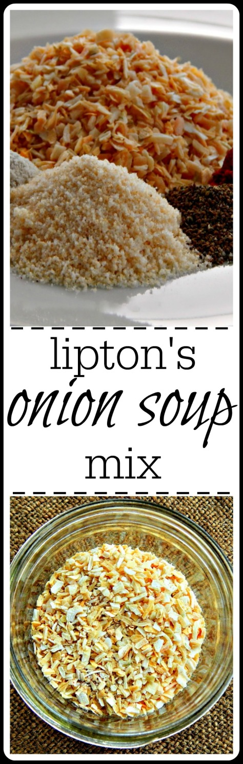Home-Made Onion Soup Mix - Lower Sodium