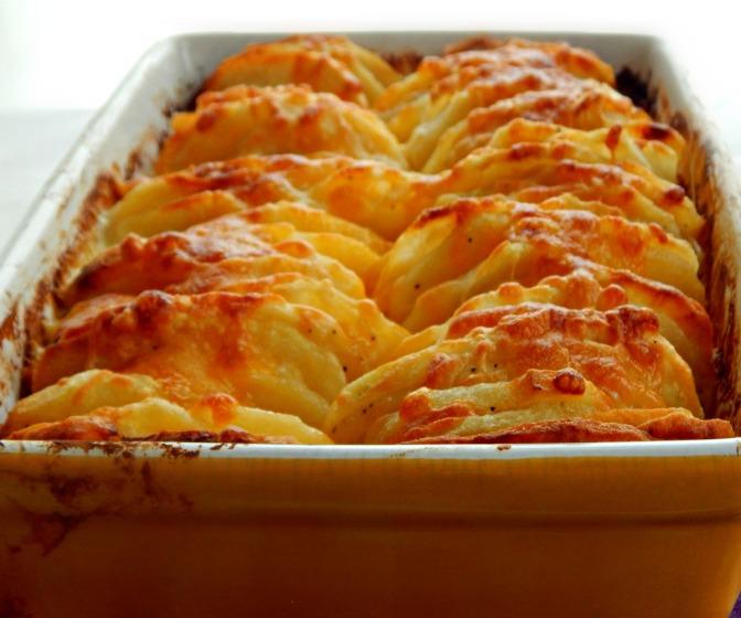 Hasselback au Gratin Potatoes