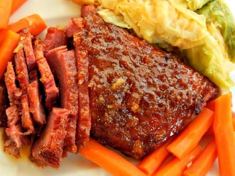 Whiskey & Marmalade Glazed Corned Beef