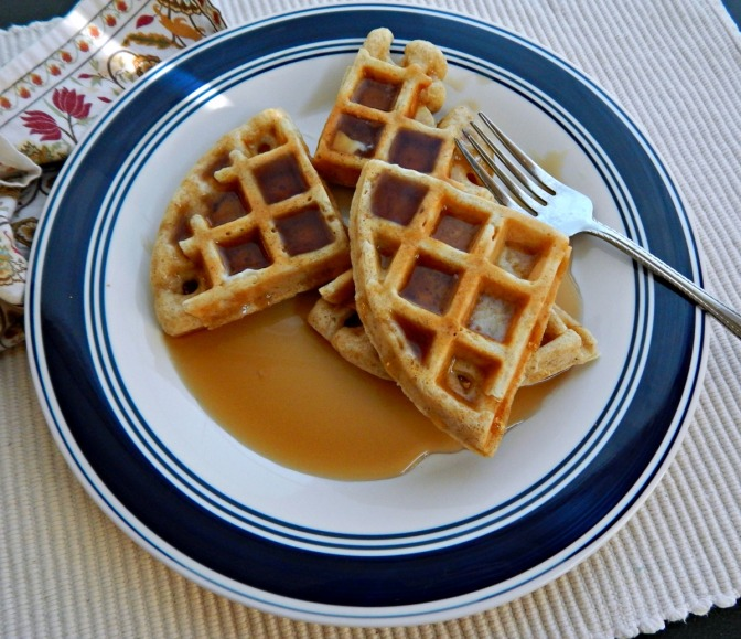 Alton Brown's Really Good Waffles