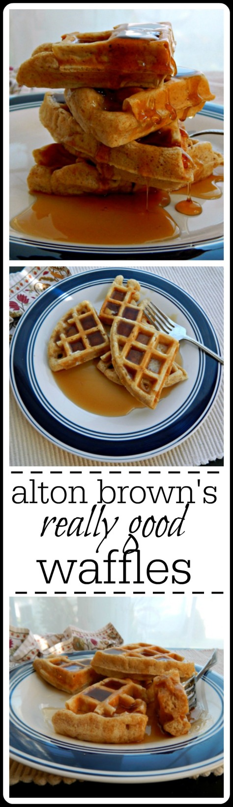 Alton Brown's Really Good Waffles: Yes, they are!! :) Buttermilk recipe, not an over night but takes just a few minutes to mix.