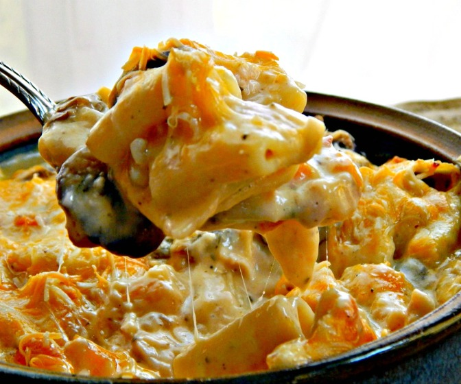 Three Cheese Chicken Casserole