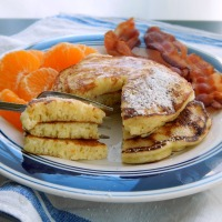 Lemon Ricotta Pancakes