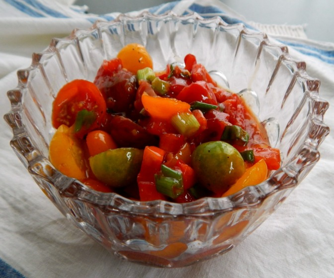 Simple Cherry Tomato Salad