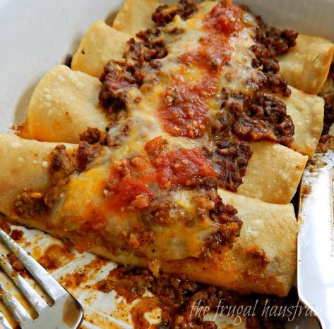Enchiladas Con Carne Frugal Hausfrau