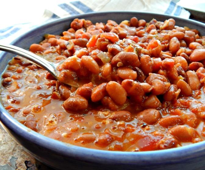 Cowboy Beans – Frijoles Charros Instant Pot