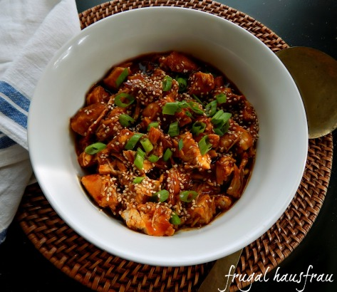 Honey Sesame Chicken Instant Pot