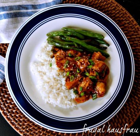 Honey Sesame Chicken Instant Pot