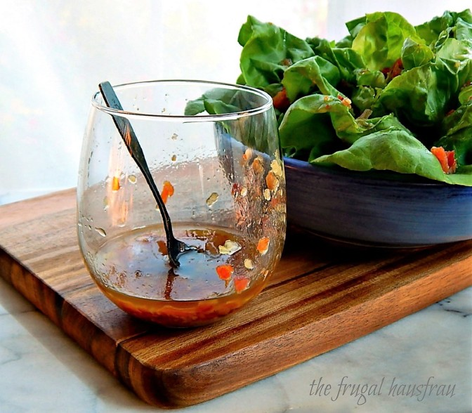 Balsamic Bacon Vinaigrette