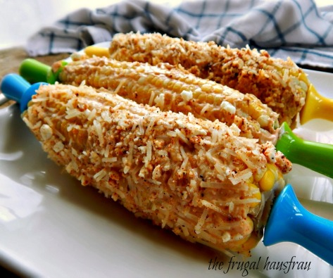 Grilled Mexican Style Street Corn