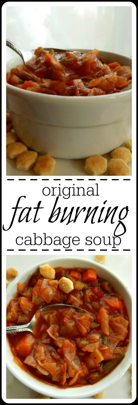 The Original Fat Burning Cabbage Soup - makes a lot & freezes beautifully