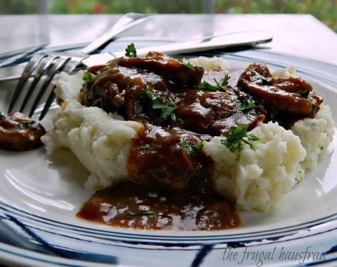 Swiss Steak Mushroom Gravy