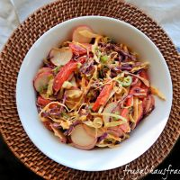 Thai Slaw with Peanut Dressing — Frugal Hausfrau — Quintullis Marketing And Gastronomic Recruiting Agent