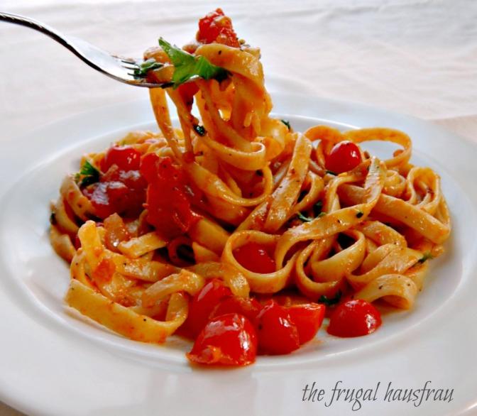 Fresh Tomato Pasta Sauce
